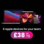 6 apple devices for £38