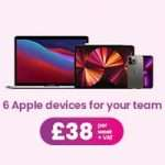 6 Apple devices for your team